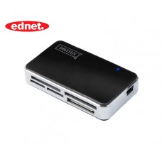 DIGITUS CARD READER USB 2.0 ALL IN ONE ΜΑΥΡΟ
