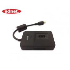 EDNET HUB/CARD READER USB 2.0 ΓΙΑ SMARTPHONE/TABLET