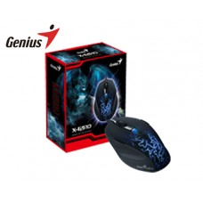 GENIUS GAMING MOUSE USB X-G510 ΜΑΥΡΟ