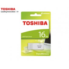 TOSHIBA FLASH DRIVE USB 2.0 16GB HAYABUSA ΛΕΥΚΟ