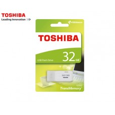 TOSHIBA FLASH DRIVE USB 2.0 32GB HAYABUSA ΛΕΥΚΟ